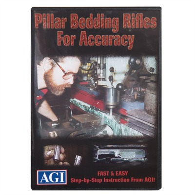 #311 Pillar Bedding Techniques 311dvd Pillar Bedding Tech. Dvd : Books & Videos by Agi for Gun & Rifle