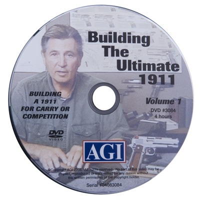 #308 Building the 1911 Style Limited Class Or Carry Gun Vol. 1 #308 Building the Ultimate 1911, Dvd : Books & Videos by Agi for Gun & Rifle