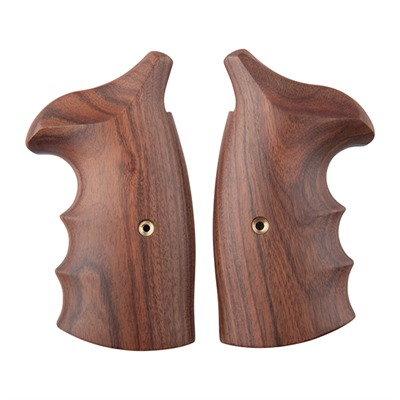 S&W Revolver Exotic Wood Grips - Fg S&W N-Frame Sq Moradillo Grip