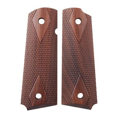 1911 Auto Exotic Wood Grips - Moradillo Diamond .45 Gov'T Grip