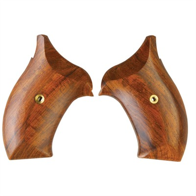 S&w Revolver Exotic Wood Grips Smooth S&w J Frame Cocobolo Grip : Handgun Parts by Ahrends for Gun & Rifle