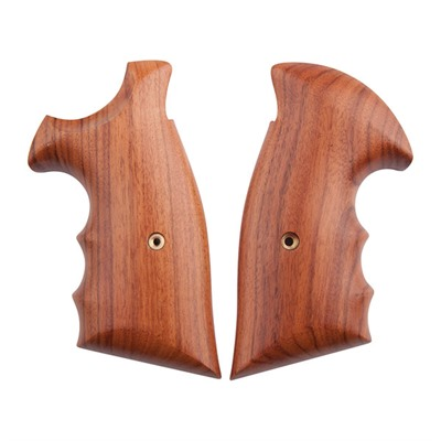 S&W Revolver Exotic Wood Grips - Retro Combat Square Butt N Frame Moradillo Rd To Sq Butt