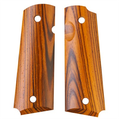 1911 Auto Exotic Wood Grips Cocobolo Gov't Smooth Grip : Handgun Parts by Ahrends for Gun & Rifle