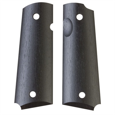 1911 Auto Exotic Wood Grips Ebony Gov't Smooth Grip : Handgun Parts by Ahrends for Gun & Rifle
