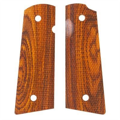 1911 Auto Square Bottom Grips Cocobolo Gov't Pin Cover Combat S&a : Handgun Parts by Ahrends for Gun & Rifle