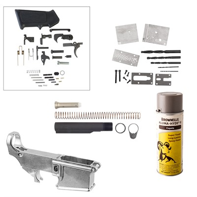 Ar-15/M16 80% Lower Receiver Jig Build Kits - Ar-15/M16 80% Lower Receiver Jig Build Kit, Coyote