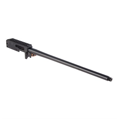 Brownells Brn-22 Barreled Receiver For Ruger 10/22 - Brn-22r Barreled Railed Receiver 16in Sporter Threaded