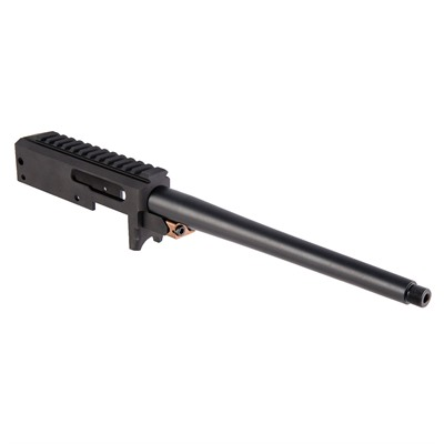 Brownells Brn-22 Barreled Receiver For Ruger 10/22 - Brn-22r Barreled Railed Receiver 10in Sporter