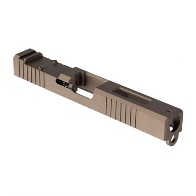 Brownells Rmr Cut Slide For Glock 19 Gen 3 - Rmr Slide +window For Gen3 Glock  19 Fde  Pvd
