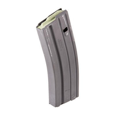 Brownells Ar 15 30rd Magazine Ss 223/5.56 Ar 15 Magazine Ss 223/5.56 30rd Aluminum Gray Online Discount