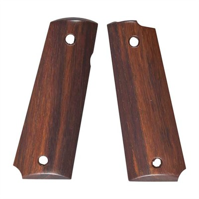 1911 Premier Wood Grips - Smooth Grip, Rosewood