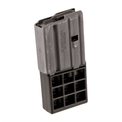 Brownells Ar 15 5/10rd Magazine 223/5.56 Ar 15 Magazine 223/5.56 10rd Aluminum Gray Online Discount