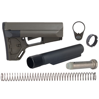 Brownells Ar-15 Acs Stock Assy Collapsible Mil-Spec - Ar-15 Acs Stock Assy Collapsible Mil-Spec Odg