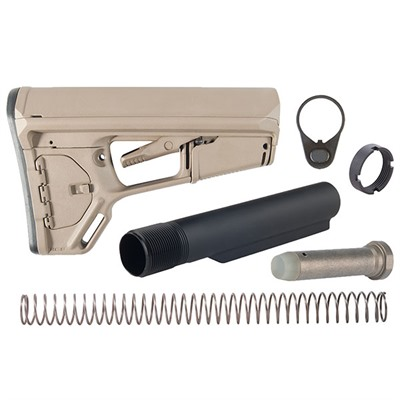 Brownells Ar-15 Acs-L Stock Assy Collapsible Mil-Spec - Ar-15 Acs-L Stock Assy Collapsible Mil-Spec Fde