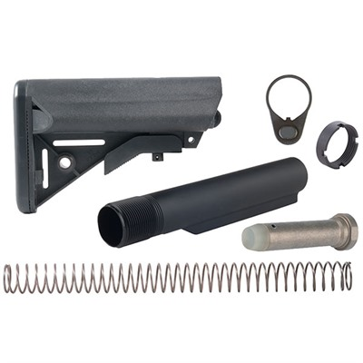 Brownells Ar-15 Sopmod Stock Assy Collapsible Mil-Spec - Ar-15 Sopmod Stock Assy Collapsible Mil-Spec Blk
