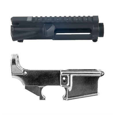 Brownells Ar-15 Stripped Receivers Kit - Ar-15 Stripped Receviers Kit