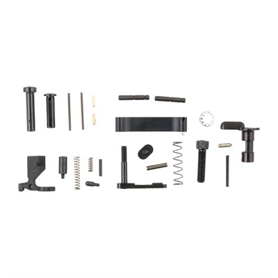 Brownells Ar-15 Lower Parts Kit 5.56 - Ar-15 Lower Parts Kit 5.56 No Fire Control Grp/Pistol Grip