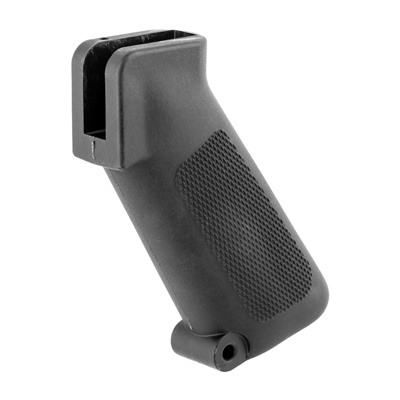 Brownells Ar-15 Retro Pistol Grip - Ar15 Pistol Grip - Black - M16a1