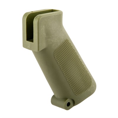 Brownells Ar-15 Retro Pistol Grip - Ar-15 Pistol Grip - Green - Model 601