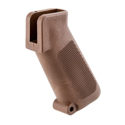 Brownells Ar-15 Retro Pistol Grip - Ar-15 Pistol Grip - Brown - Original Ar-15