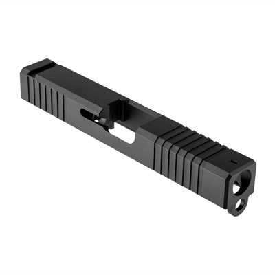Brownells Iron Sight Slide For Glock 19 Gen 3 - Iron Sight Slide Gen3 Glock 19 Stainless Nitride