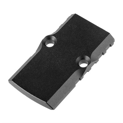 Brownells Rmr Cover Plate - Aluminum Cover Plate For Brownells Rmr Slides, Black