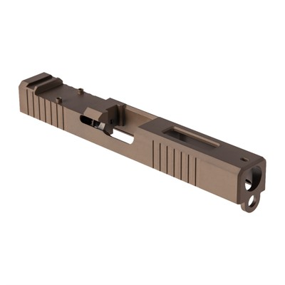 Brownells Rmr Cut Slide For Glock 17 Gen 3 - Rmr Slide +window For Gen3 Glock  17 Fde  Pvd