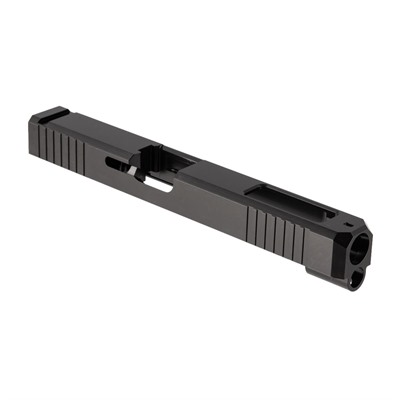 Brownells Iron Sight Slide For Glock 34 - Iron Sight Slide + Win For Glock 34 Gen 3, Ss Nitride