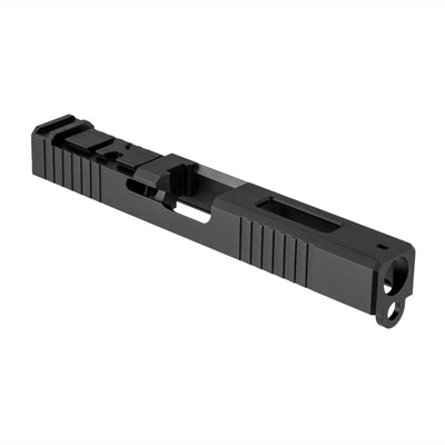 Brownells Acro Cut Slide For Glock 17 Gen 3 - Acro Slide + Window For Glock 17 Gen 3, Ss Nit