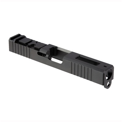 Brownells Acro Cut Slide For Glock 19 Gen 3 - Acro Slide + Window For Glock 19 Gen 3, Ss Nit