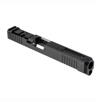 Brownells Acro Cut Slide For Glock 34 Gen 3 - Acro Slide + Window For Glock 34 Gen 3, Ss Nit
