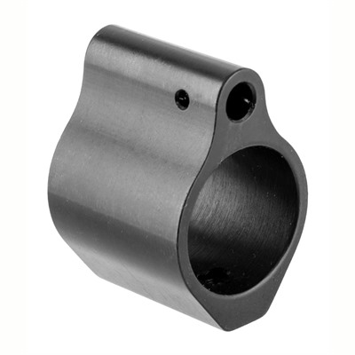 Brownells Ar-15  Gas Block Nitride - Ar-15 Gas Block Nitride .750