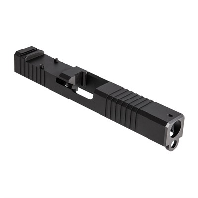 Brownells Rmr Cut Slide For Glock 17 Gen 3 - Rmr Slide For Gen3 Glock 17 Stainless Nitride