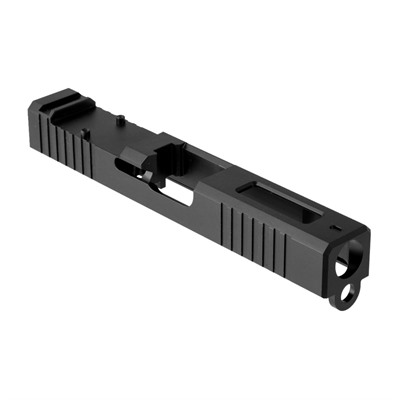 Brownells Rmr Cut Slide For Glock 19 Gen 3 - Rmr Slide +window Gen3 Glock 19 Stainless Nitride