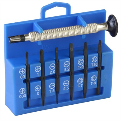 Brownells 12-In-1 Precision Miniature Screwdriver Set