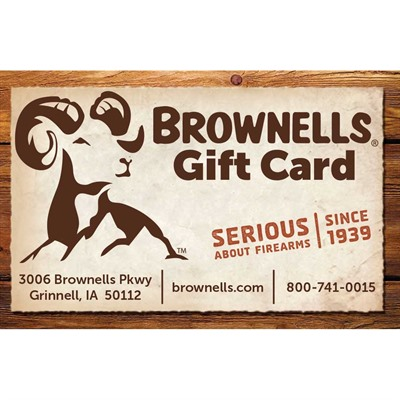 Brownells Gift Cards - Brownell Email Gift Card