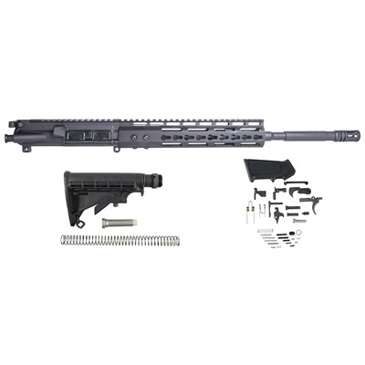 Brownells Ar-15 Upper Receiver W/ Lower Parts Kit & Stock Assembly