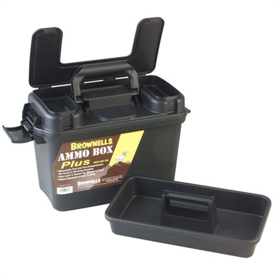 Brownells Ammo Box Plus Polymer Black