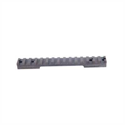 Brownells Savage 10-16 Short Action Round Back Picatinny Scope Base - Savage 10-16 Round Back Sa Steel Base