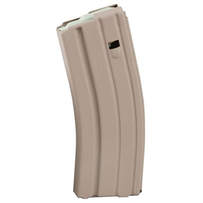 Ar-15 / m16 20- & 30-round Magazines 30-rd Ar15 / m16 Mag W / ss Sprg-socom Tan : Magazines by Brownells for Gun & Rifle
