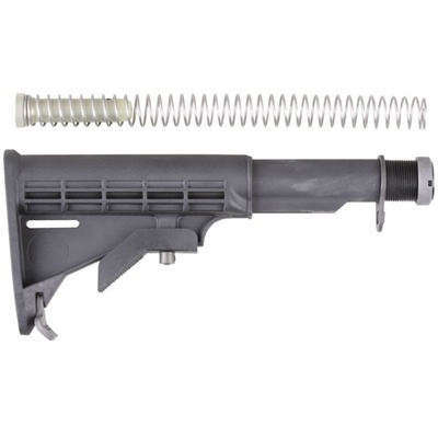Brownells Ar-15 Stock Assy Collapsible Commercial - Ar-15 Stock Assy Collapsible Commercial Blk