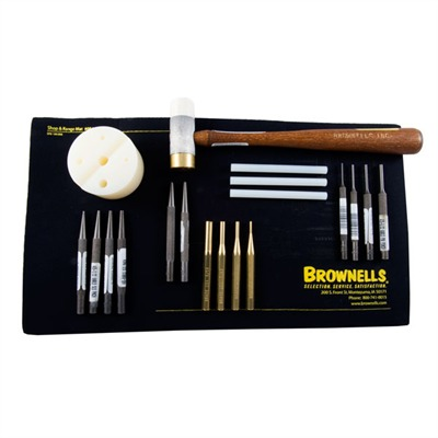 Brownells Gunsmith Master Punch Set