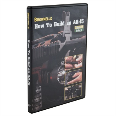 Brownells How To Build An Ar-15 Dvd