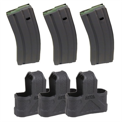 Buy Brownells Ar-15/M16 30rd 223/5.56 Magazine 3 Pack With Magpuls