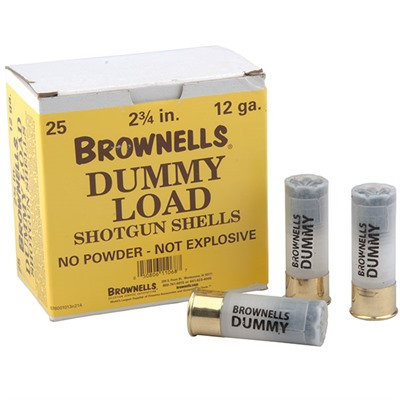 Brownells 12 Ga Shotgun Dummy Rounds