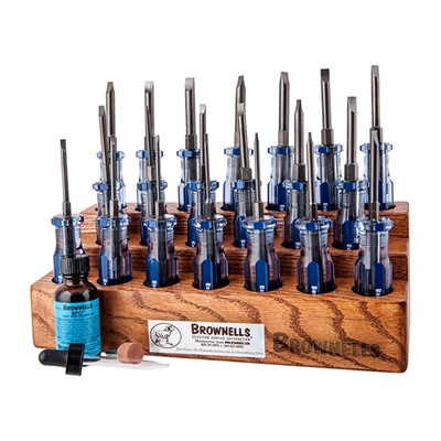 Brownells Fixed-Blade Screwdriver Master Sets