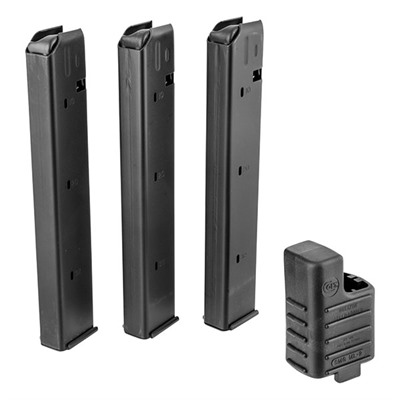 Buy Brownells 9mm Ar-15 32 Round Magazine 3 Pack & Loader