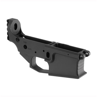 Brownells Brn-180m Lower Receiver - Brn-180m Lower Receiver Stripped Billet Black