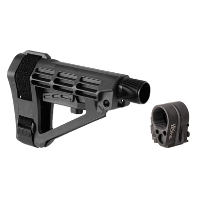Brownells Sba4 Adjustable Brace & Ar-15/M16 Gen3-M Folding Stock Adapter - Sba4 Adjustable Brace & Ar-15 Gen3-M Folding Adapter Black