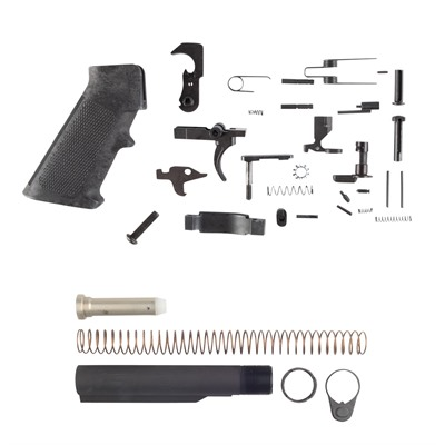 Brownells Ar-15 Gi Lower Parts Kit With M4 Buffer Tube Assembly